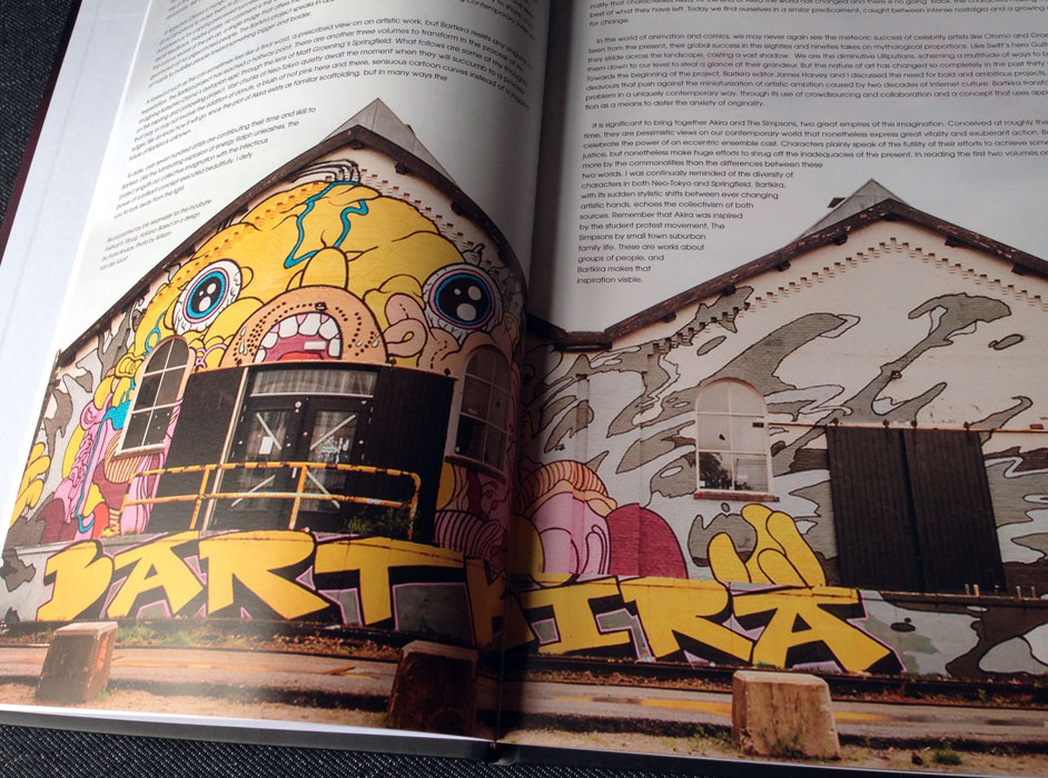 Bartkira: Nuclear Edition in print photos